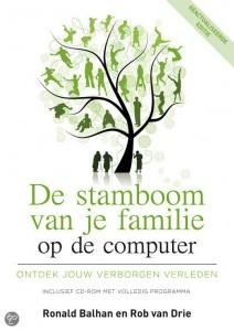 stamboom van je familie op de computer